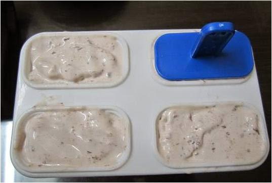 cách làm kem que đậu đỏ