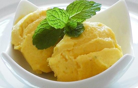 cách làm kem xoài nước cốt dừa