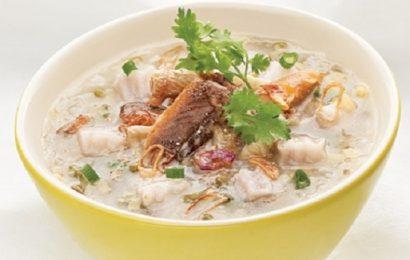 Học cách nấu cháo cá gáy tại nhà cực bổ dưỡng mà lại dễ