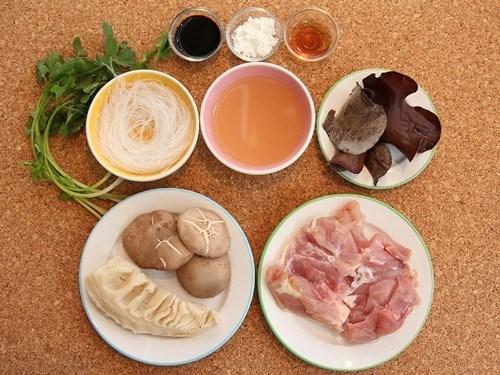 cách nấu miến gà kỳ đồng