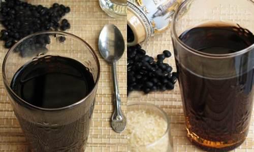 cách uống đậu đen xanh lòng