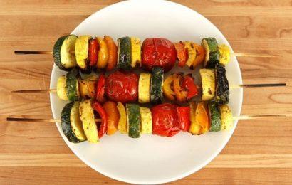 Mách bạn cách ướp rau củ nướng ngon đơn giản