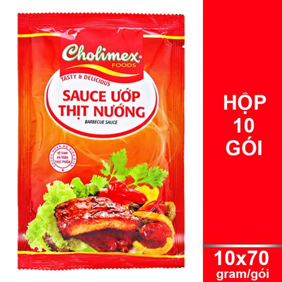 gói ướp thịt nướng cholimex 1
