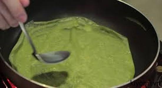 cách làm crepe sầu riêng kem tươi 3