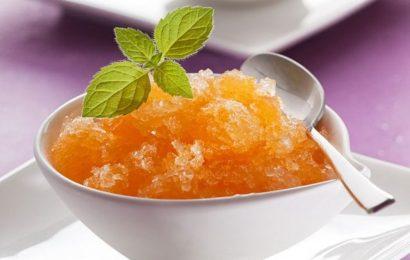 Cách làm kem cam đá ngon mát lạnh mà vô cùng đơn giản