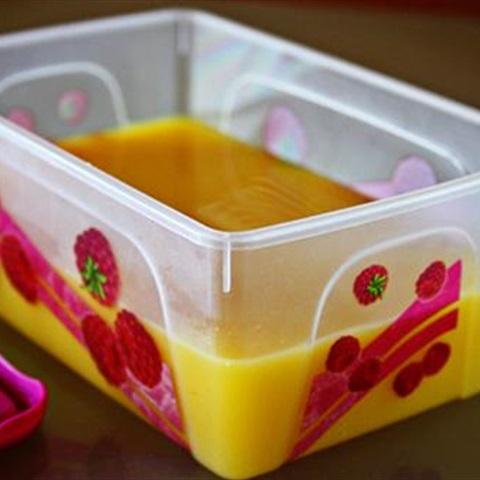 cách làm kem cam đơn giản tại nhà 4