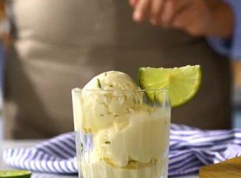 Mát lạnh mùa hè với cách làm kem chanh đơn giản tại nhà