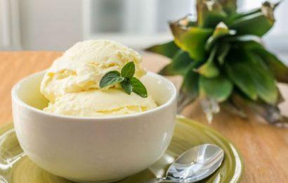 Cách làm kem dứa không cần máy cực ngon