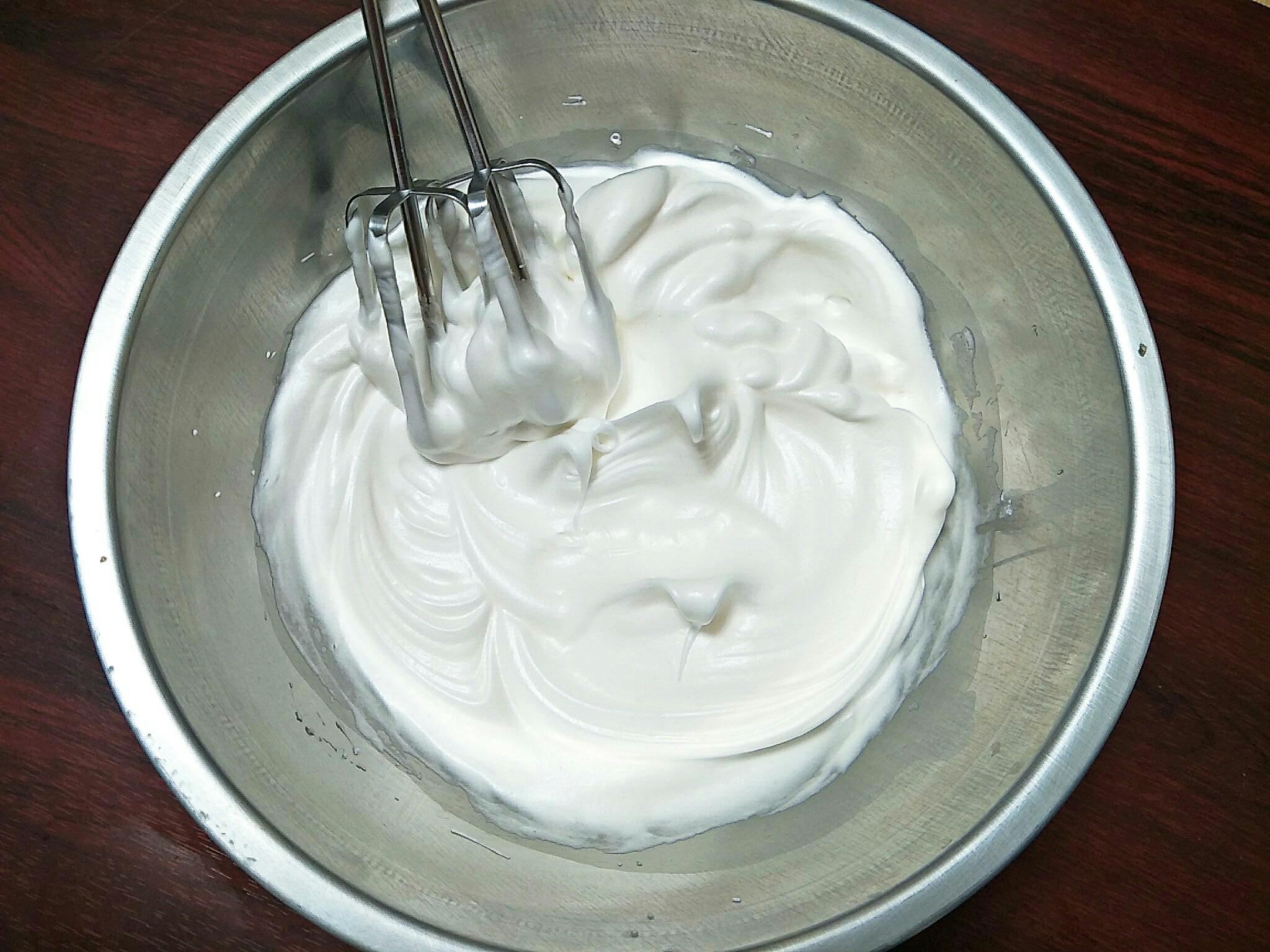 cách làm kem dừa không cần trứng 3