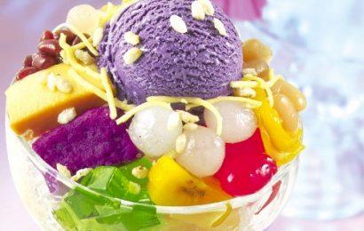 Cách làm kem hoa quả ngon đơn giản tại nhà