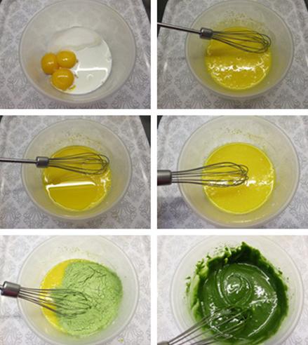 cách làm kem trà xanh ngon tại nhà 1
