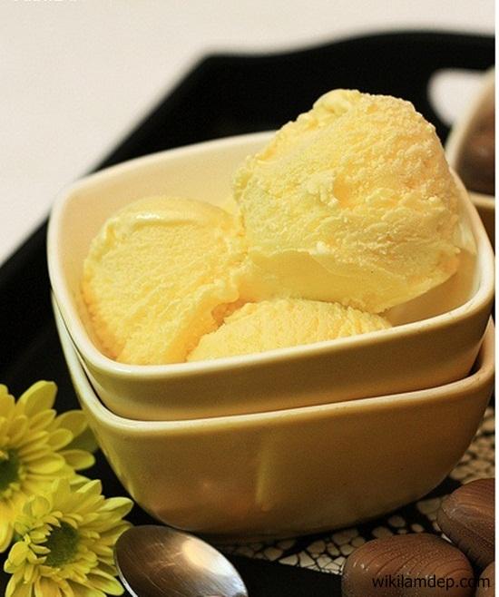 cách làm kem từ lòng đỏ trứng gà 4