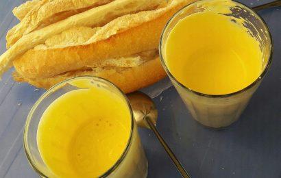 Cách làm trứng gà đánh kem món ăn ngon Hà Nội