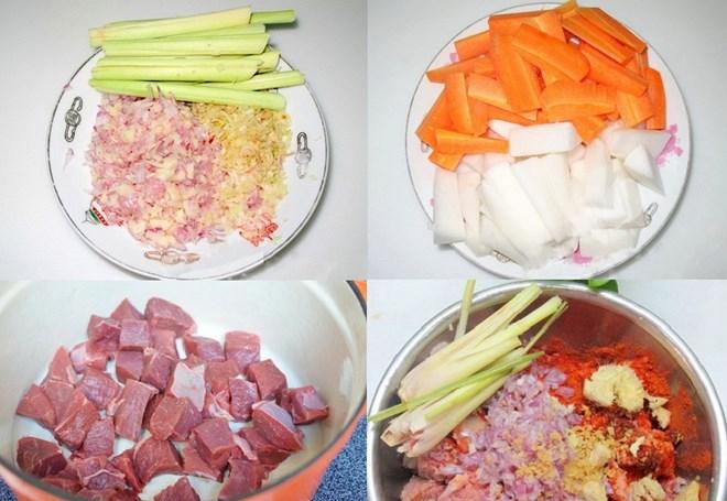 cách nấu bò sốt vang ăn với bánh mì