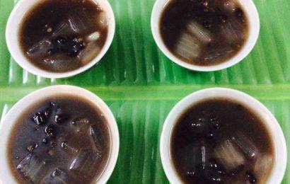 Cách nấu chè nha đam đậu đen ngon mà không bị dính