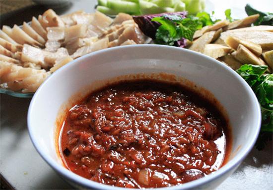 Cách pha nước chấm thịt nướng Hàn Quốc ngon tuyệt