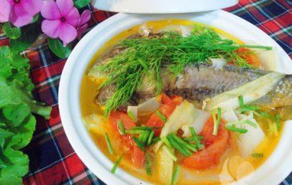 Cá chép nấu măng chua ngon tuyệt cho mùa hè nóng nực