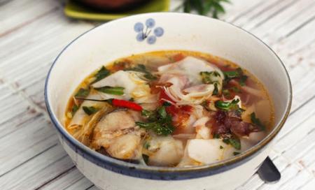 Cá chép nấu măng chua 5