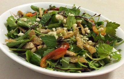 Học cách làm nộm rau má ngon và đơn giản ngay tại nhà