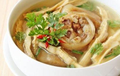 Cách nấu chân giò heo nấu măng chua thơm ngon bổ dưỡng