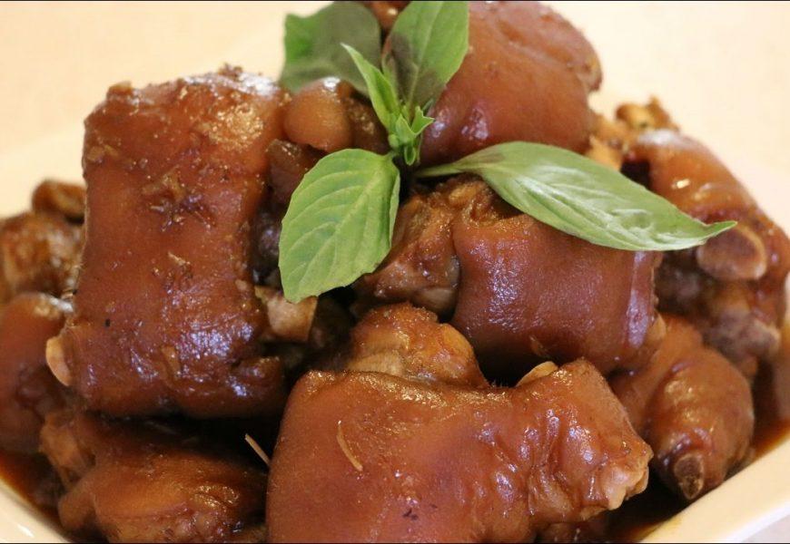 Hướng dẫn cách làm món thịt chân giò kho đậm đà hương vị
