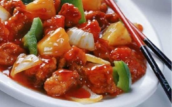 cách làm món thịt gà xào chua ngọt ngon 3