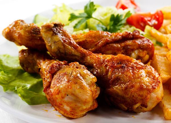 cách làm thịt gà rán 1