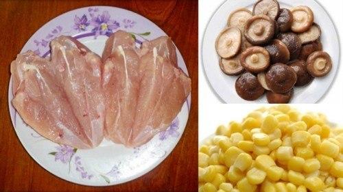 cách nấu súp thịt gà 2