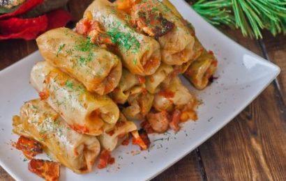 Thực đơn bữa tối đặc biệt: bắp cải cuốn thịt rán