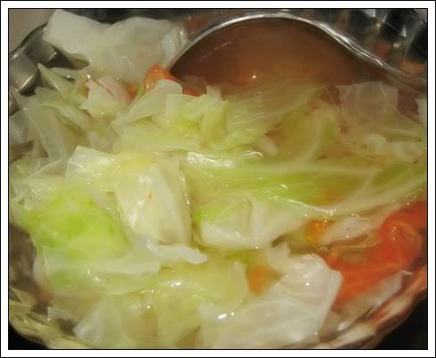 bắp cải luộc cà chua 4