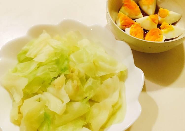 Mách bạn cách làm bắp cải luộc chấm trứng ngon đơn giản tại nhà