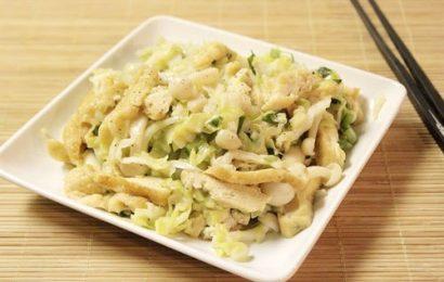 Mách bạn cách làm món bắp cải xào tỏi ngon vô cùng đơn giản