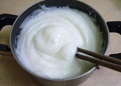 bột làm bánh giò 3