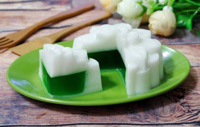 Cách làm bánh trung thu rau câu nhân trà xanh đón tết đoàn viên