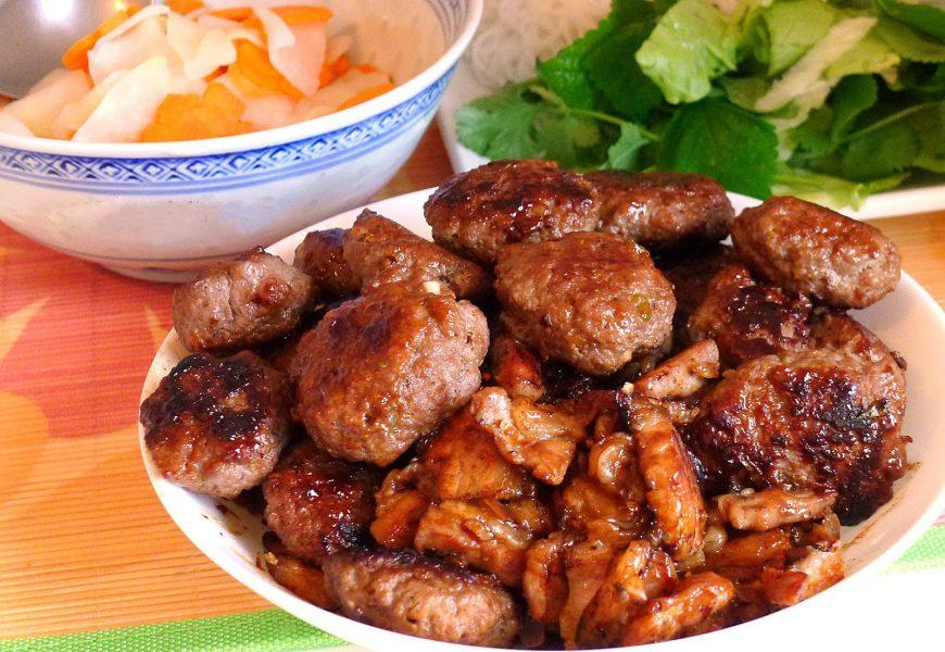 Cách làm bún chả nướng ngon mang đậm chất hương vị Hà Nội