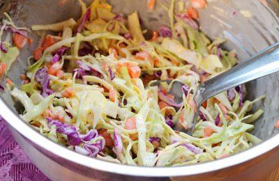 Học cách làm salad bắp cải giảm cân cực dễ và hiệu quả