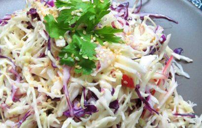 Cùng nhau tìm hiểu cách làm salad bắp cải trộn mayonnaise nào các bạn