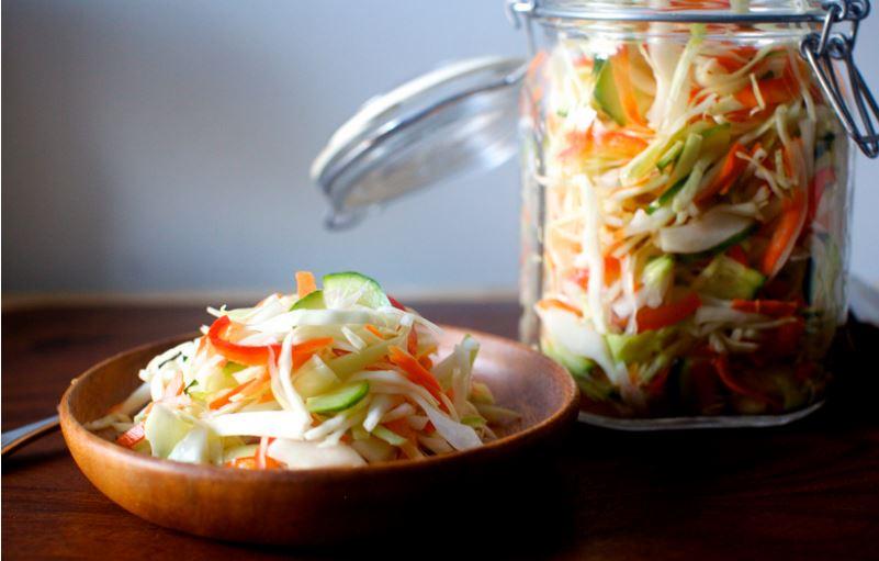 cách muối bắp cải chua ngọt 2