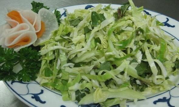 cách muối dưa bắp cải với rau cần 3