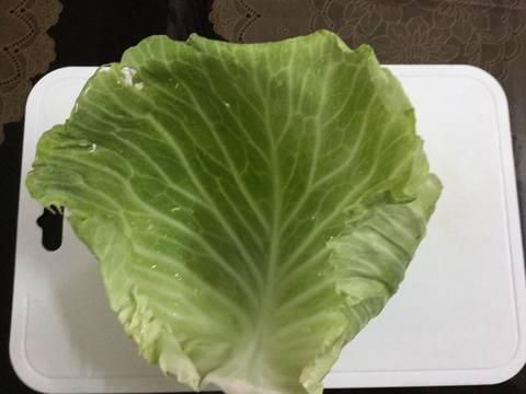 cách nấu canh bắp cải cuốn thịt 1