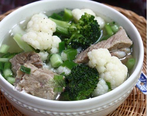 cách nấu canh súp lơ 3