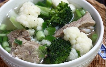Bật mí 3 cách nấu canh súp lơ trắng ngon mát cho ngày hè
