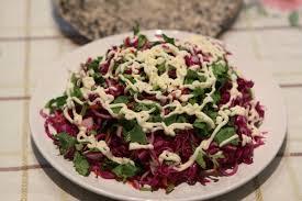 cách trộn salad bắp cải tím 3