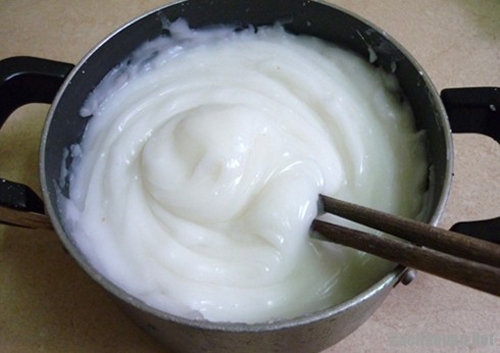 công thức pha bột làm bánh giò 2
