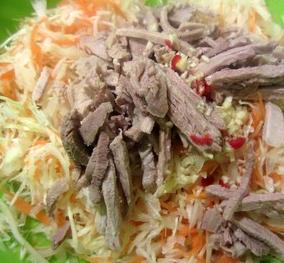 Bật mí cách làm món gỏi bắp cải thịt heo chuẩn vị nhất