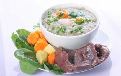 Cách nấu cháo thịt gà với rau gì cho bé dinh dưỡng nhất