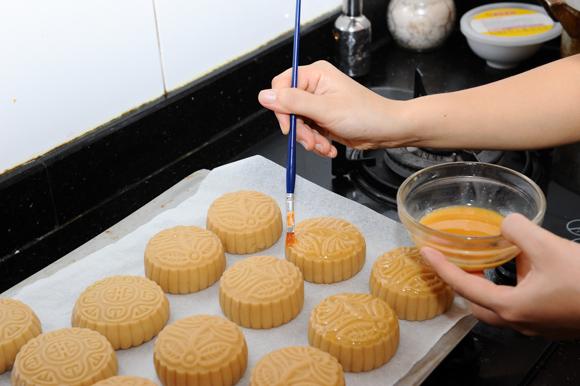 cách làm bánh nướng trung thu 3