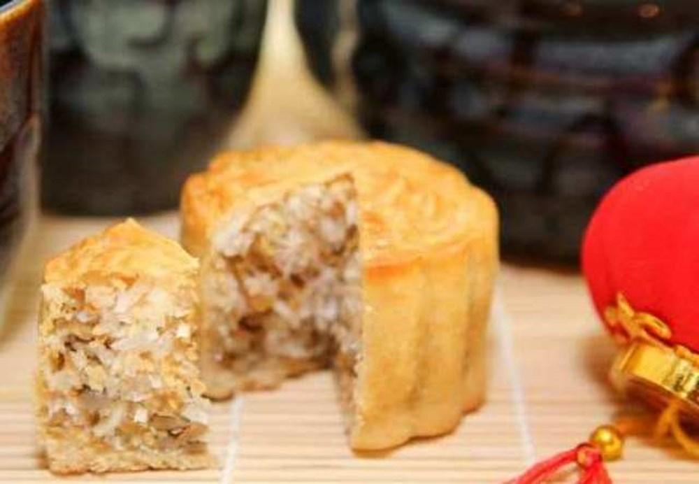 cách làm bánh trung thu nhân dừa 1
