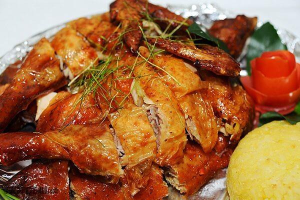 cách làm gà nướng sả ớt 1