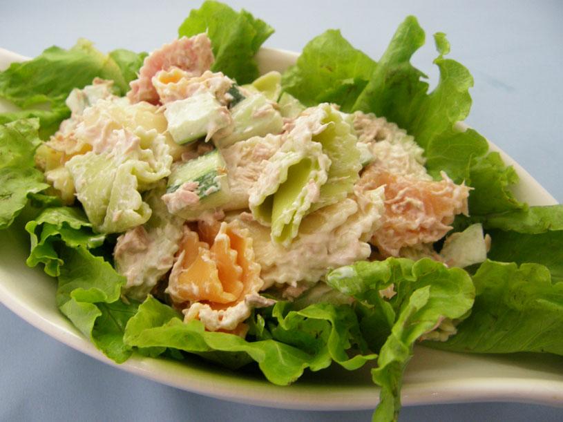 cách làm món salad cá hồi 1